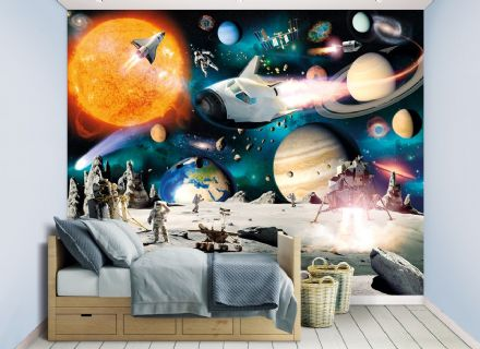 "Photo wallpaper ""Space Adventure"""